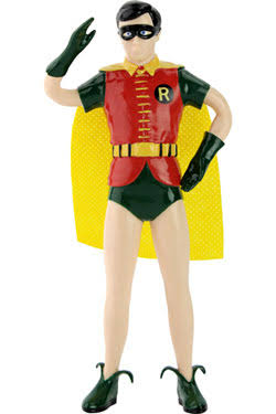 NJ Croce DC3922 Batman Classic TV Series Robin Bendable Figure