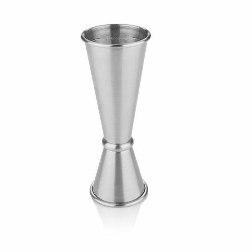 Viski Jiggers Professional Stainless Steel Double Jigger - 1oz and 2oz