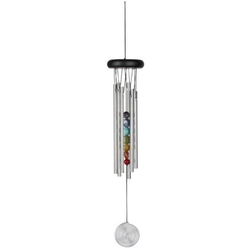 Woodstock Chimes WOODCC7 Chakra Chimes Seven Stones