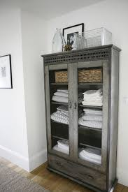 Tall Narrow Linen Cabinet With Doors by Top 25 Best Bathroom Towel Storage Ideas On Pinterest Towel