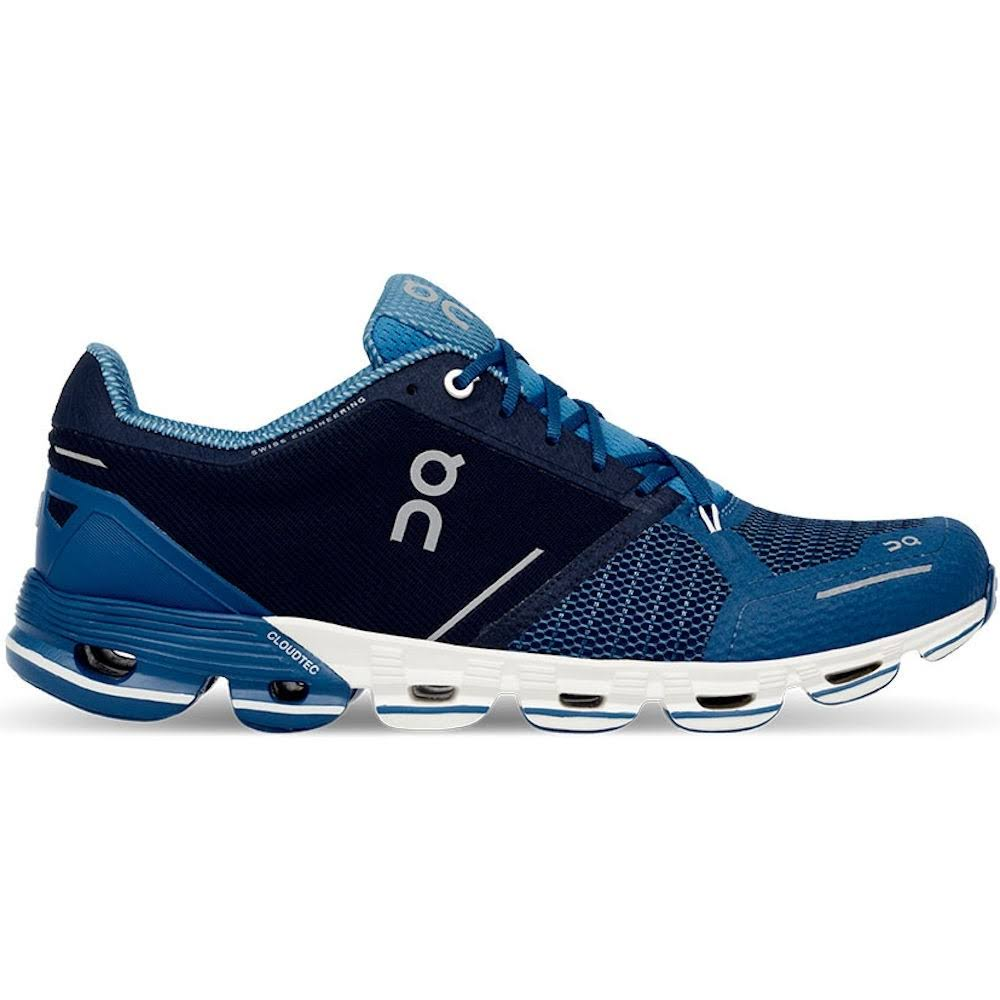 on Men's Cloudflyer Running Shoes - Blue/White, 11