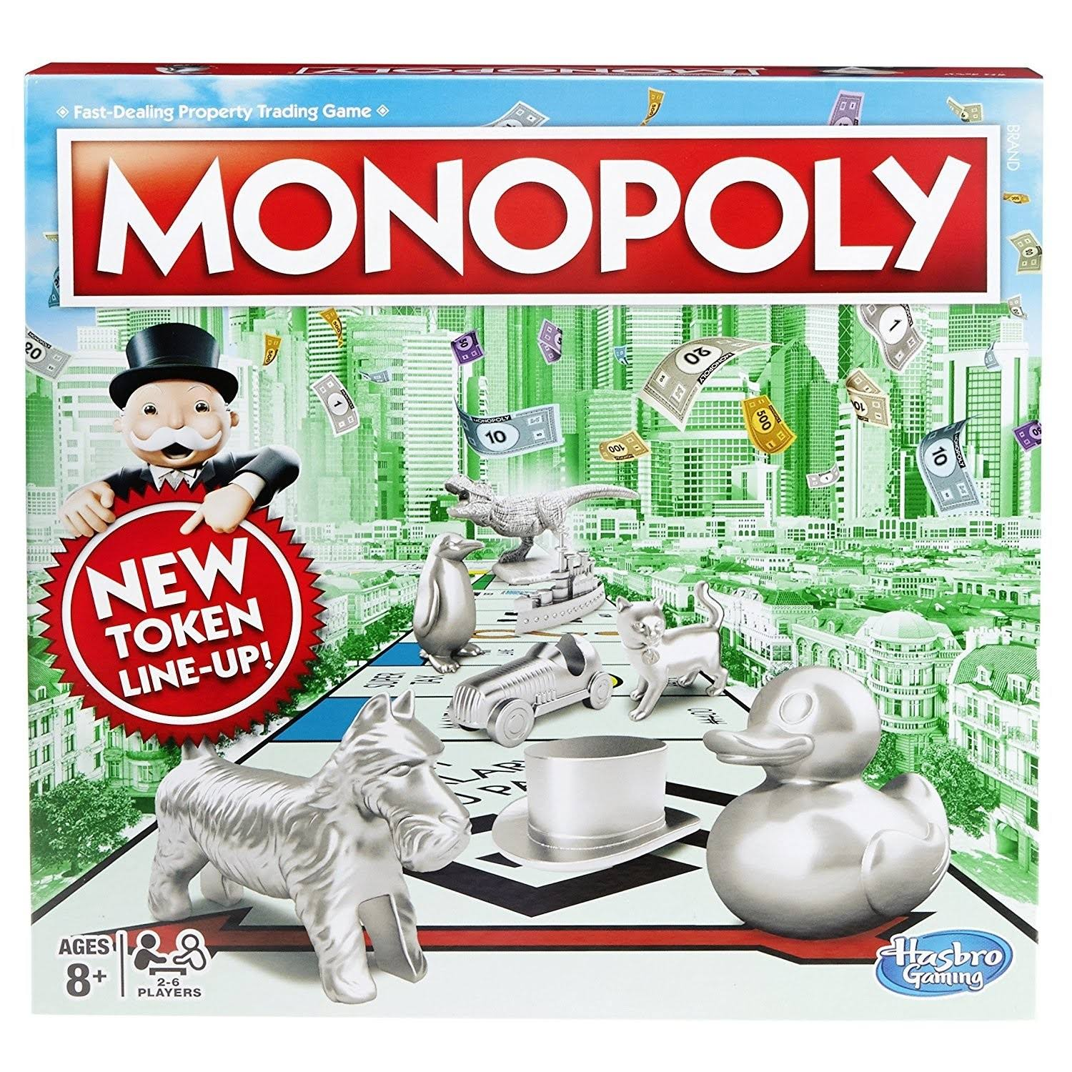 Hasbro Gaming Classic Monopoly Board Game