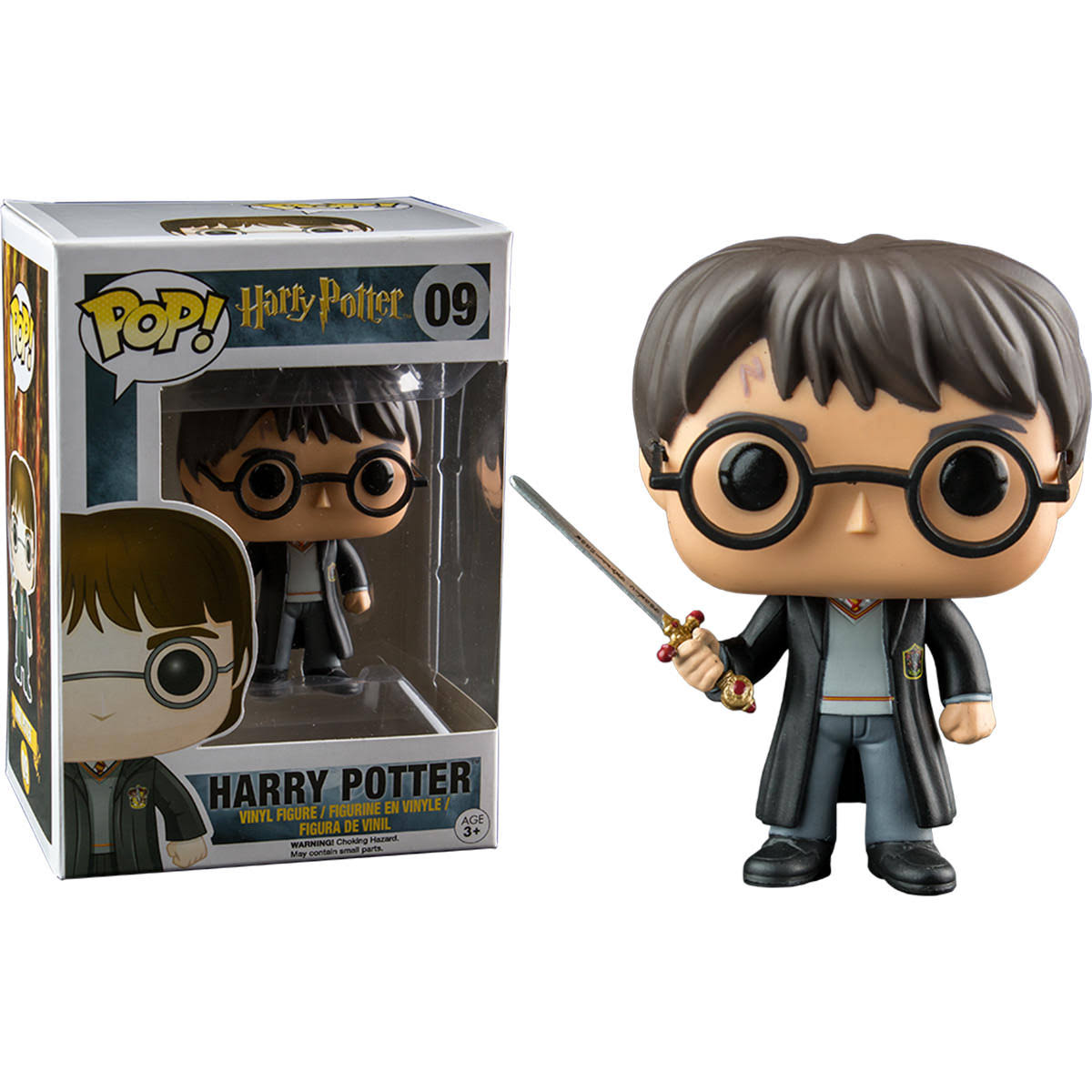 Funko Pop! Harry Potter with Sword Hot Topic Exclusive Vinyl Figure
