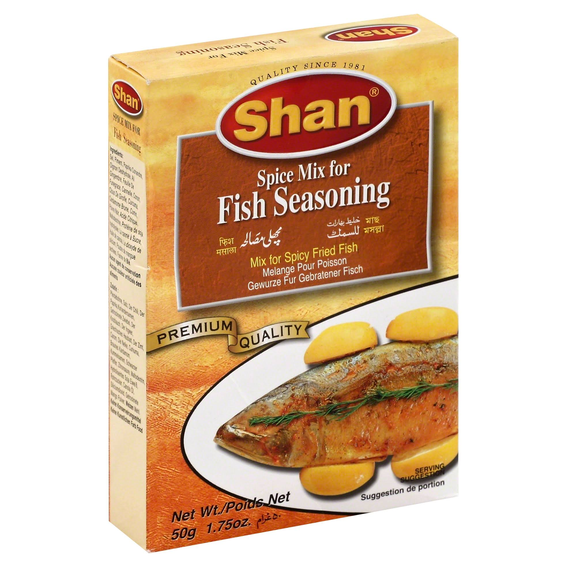 Shan Spice Mix for Fish Seasoning