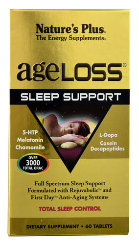Nature's Plus Ageloss Sleep Support Dietary Supplement - 60 Capsules