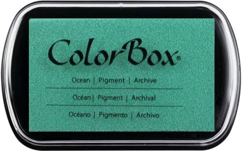 ColorBox Classic Pigment Ink Pad - Ocean, Full Size