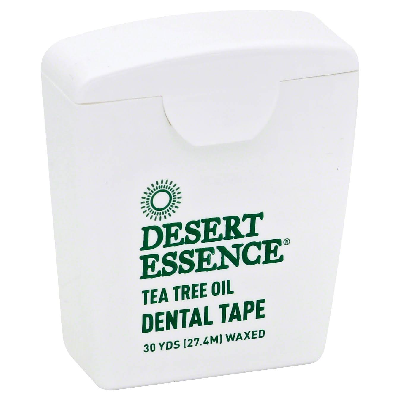 Desert Essence Dental Tape - Tea Tree Oil, 27.4m
