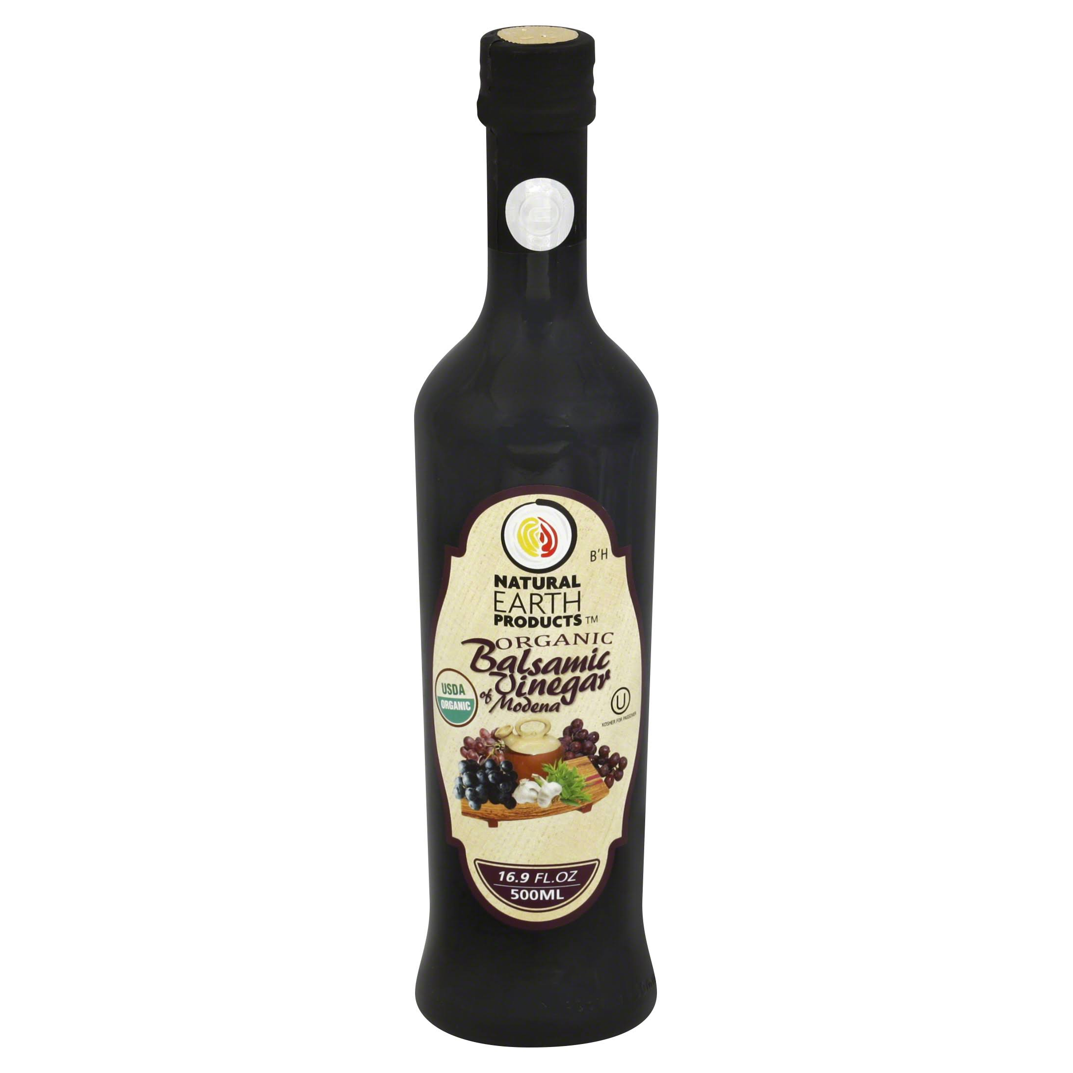 Natural Earth Organic Balsamic Vinegar of Modena - 16.9oz