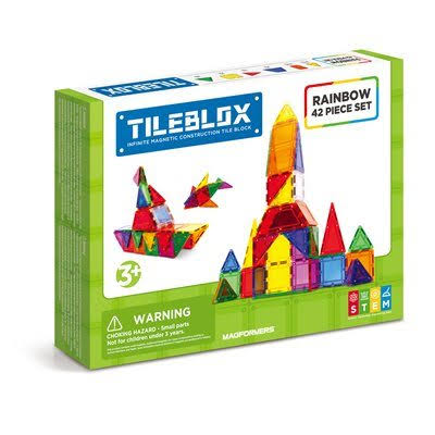 Tileblox Rainbow Set - 42ct