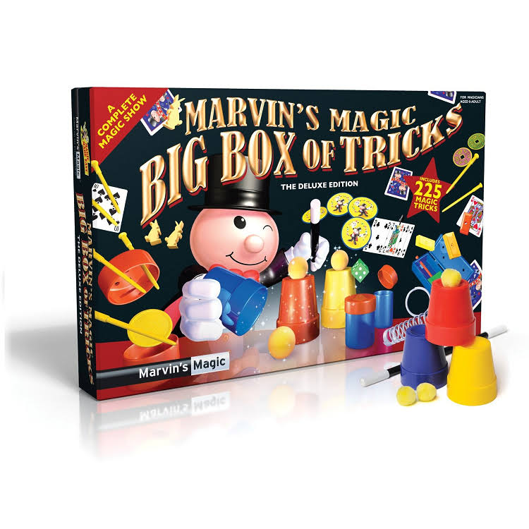 Marvin's Magic Marvin's Amazing Magic Tricks The Deluxe Edition Set
