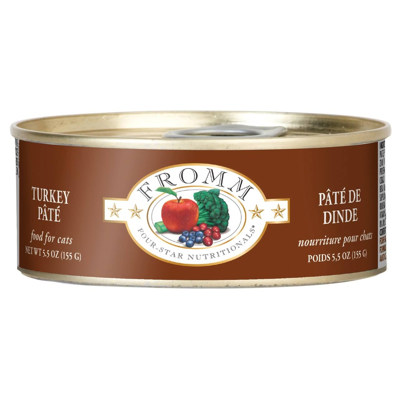 Fromm Four-Star Turkey & Pumpkin Pâté - Can