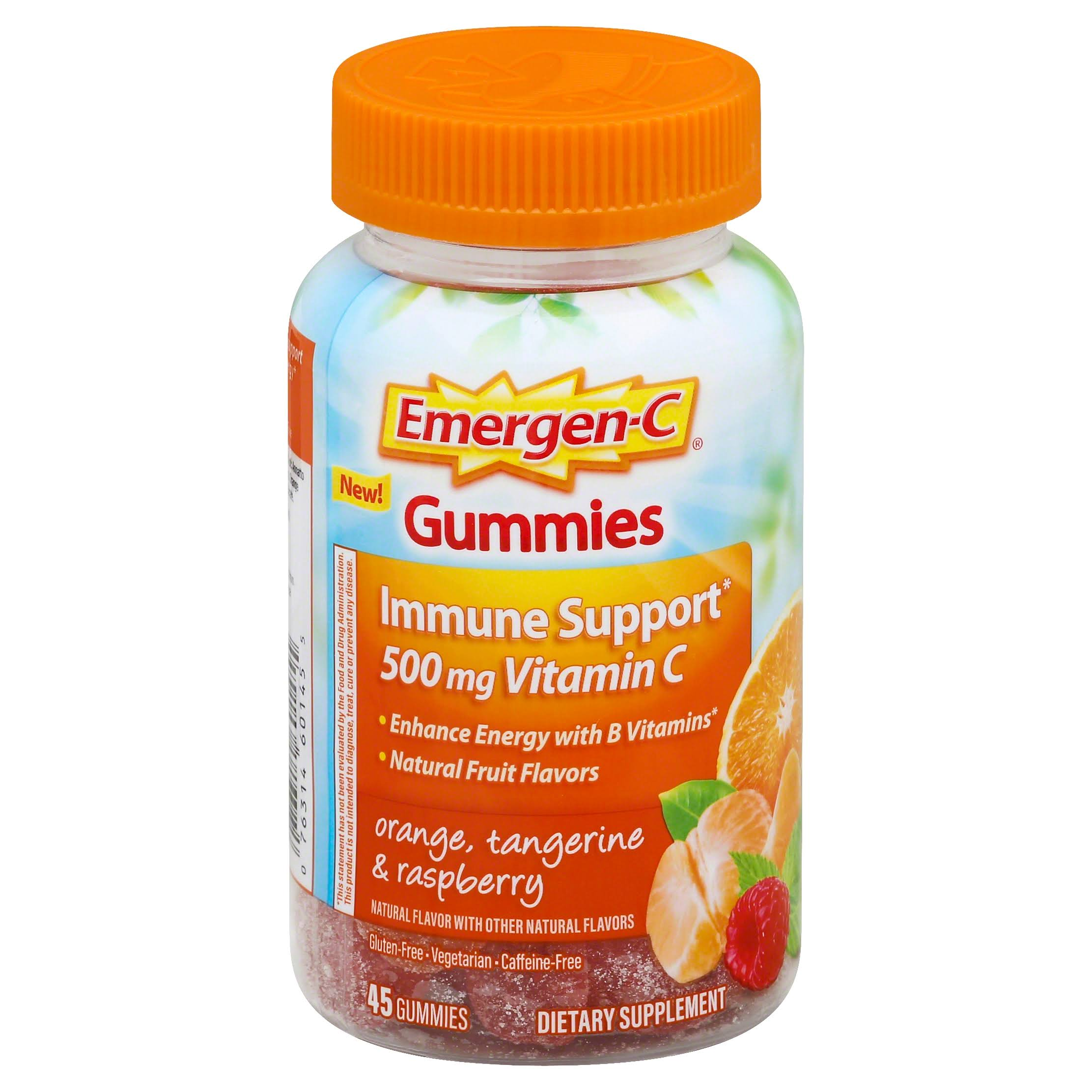Emergen-C Gummies Dietary Supplement - 500mg, 45ct