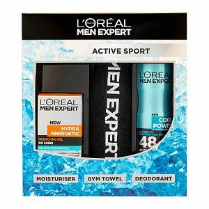 L'oreal Men Expert Active Sport Gift Set - 3pcs