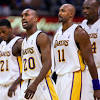 15 stars you might have forgot played for the Los Angeles Lakers