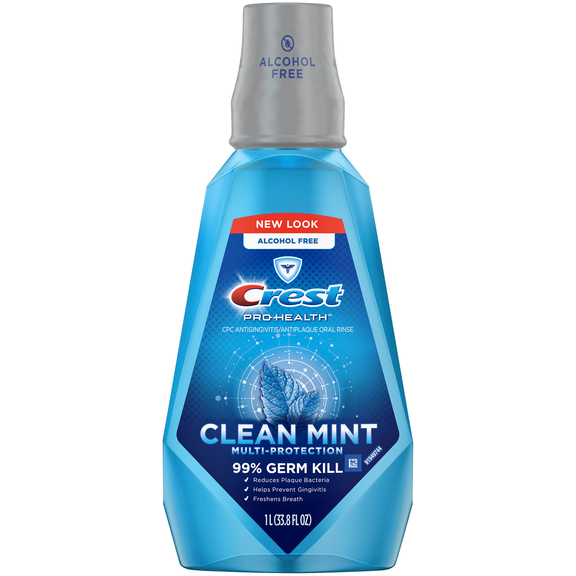 Crest Pro-Health Multi-Protection Mouthwash - Clean Mint, 1l