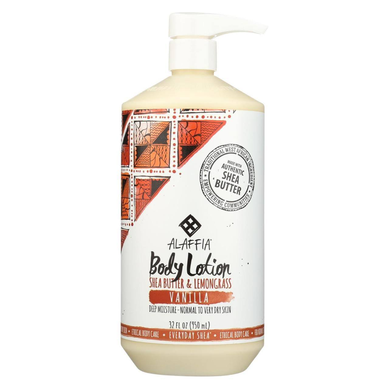 Everyday Shea Moisturizing Body Lotion - Vanilla, 32oz