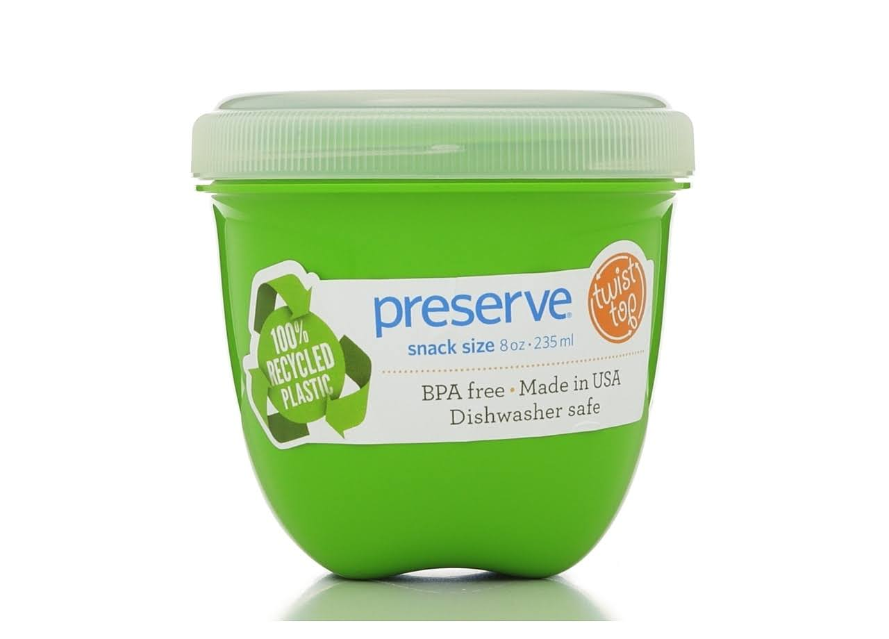 Preserve Food Storage Container - Apple Green