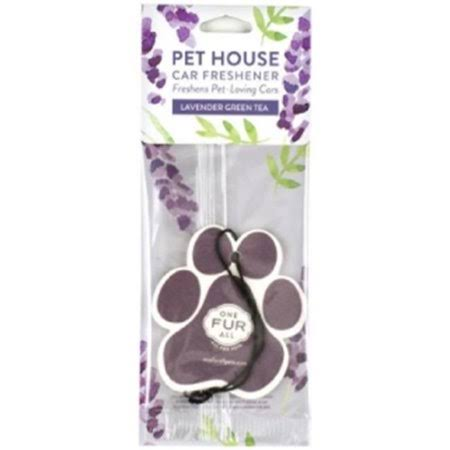 Pet House 22149 Lavender Green Tea Car Air Freshener