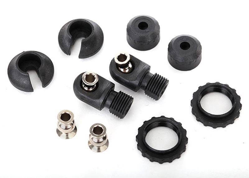 Traxxas 8264 GTS Shock Caps and Spring Retainers
