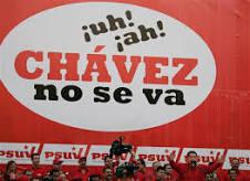 Cartel contrario a Hugo Chávez