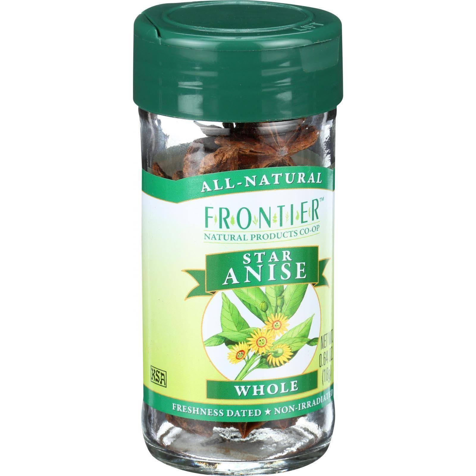 Frontier Select Whole Star Anise Spices