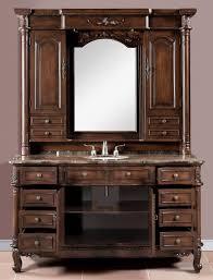 Ebay Bathroom Vanity With Sink by 65 Inch Single Bath Vanity With Hutch