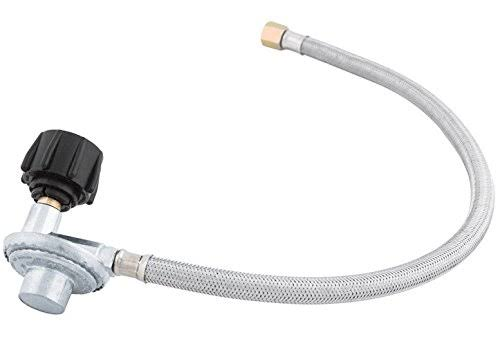 Grillmark Gas Line Hose and Regulator 21 in.