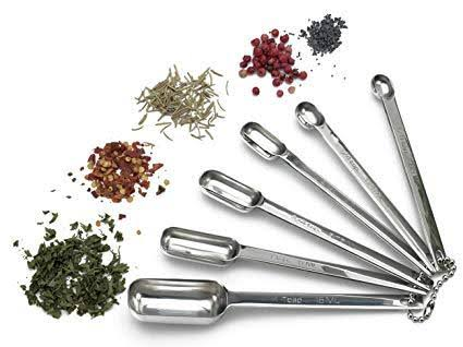 RSVP Endurance Set of 6 Spice Spoons