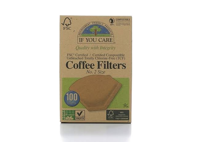 If You Care Coffee Filters - No.2 Size, 100 Filters