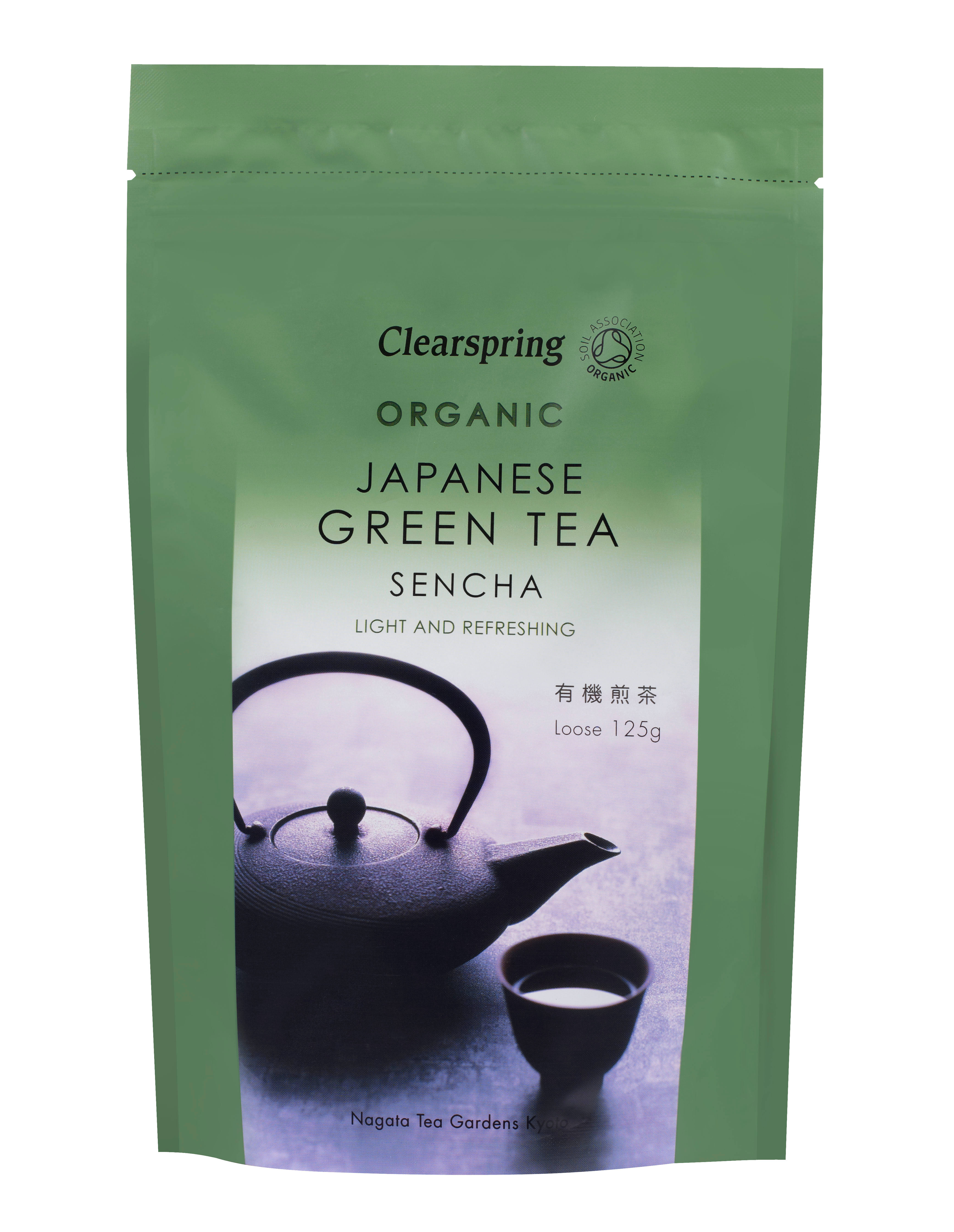 Clearspring Organic Japanese Green Tea - Sencha, 125g