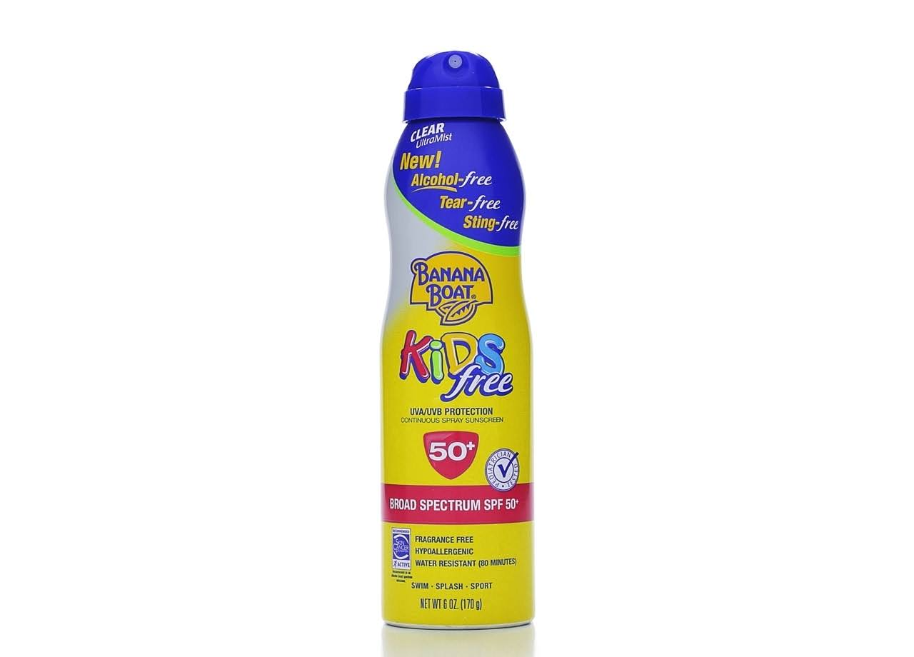 Banana Boat Kids Broad Spectrum SPF 50+ Continuous Spray Sunscreen - 6oz