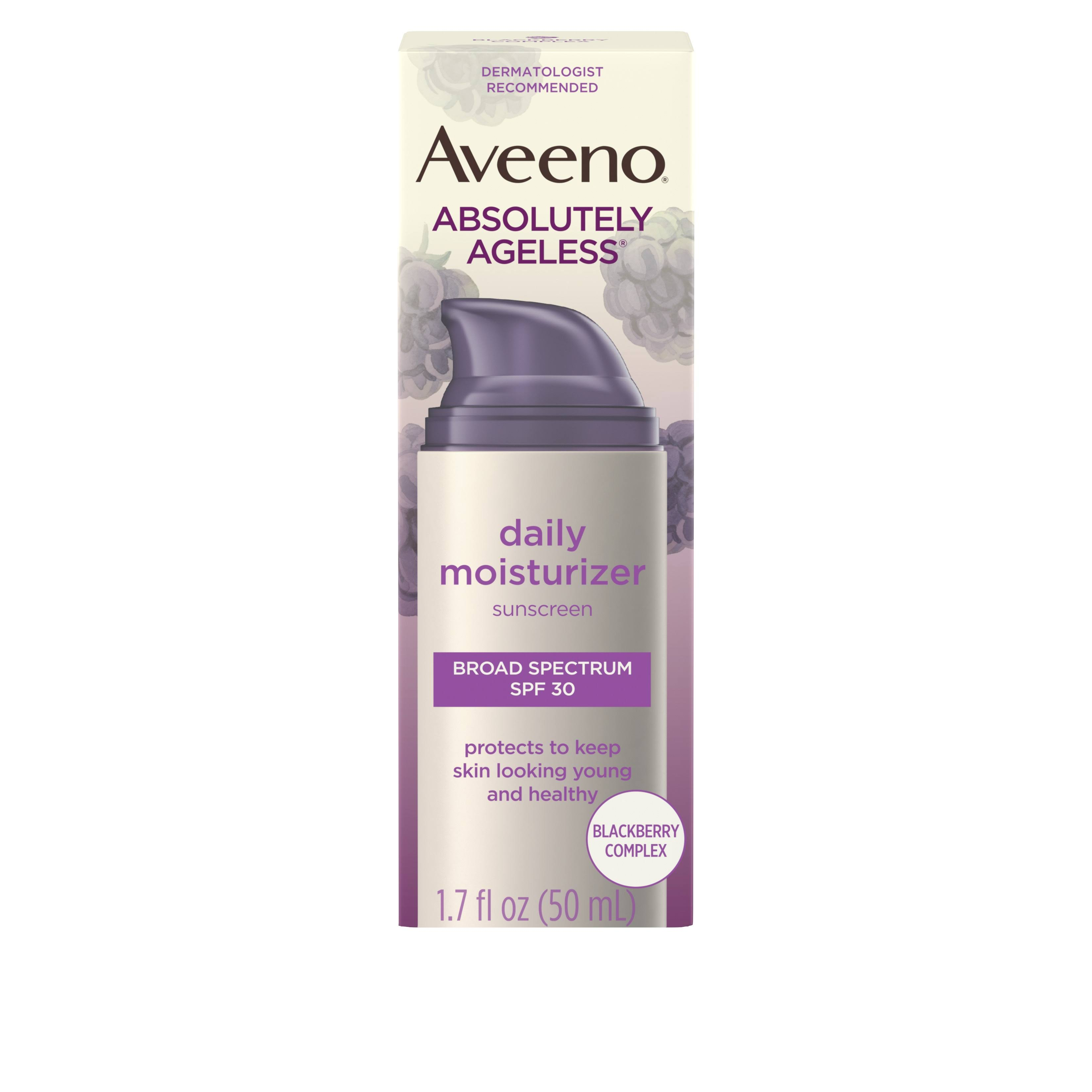 Aveeno Absolutely Ageless Daily Moisturizer - SPF 30, 1.7oz