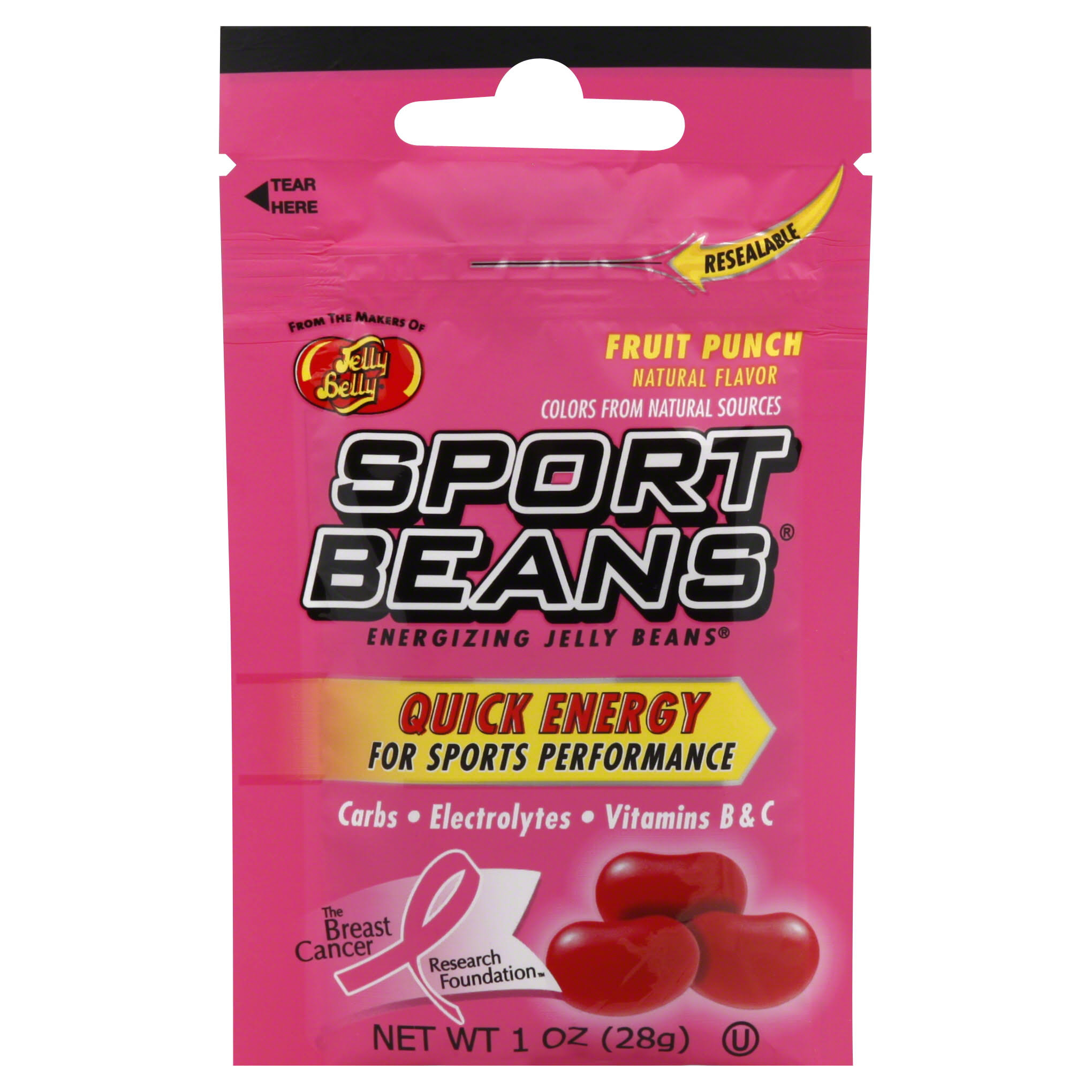 Jelly Belly Sport Beans Energizing Jelly Beans - Fruit Punch