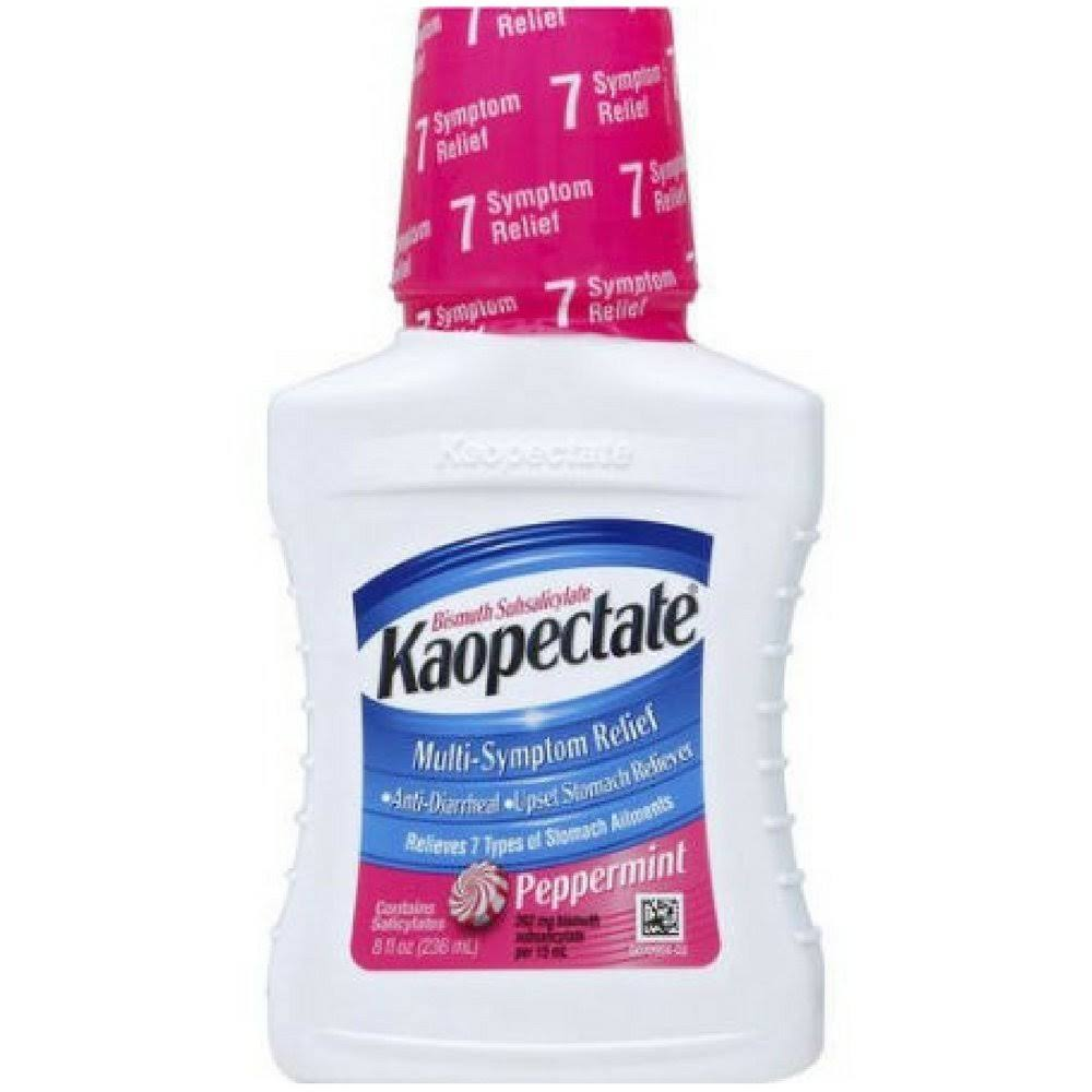 Kaopectate Multi-Symptom Relief Peppermint Bismuth Subsalicylate - 236ml