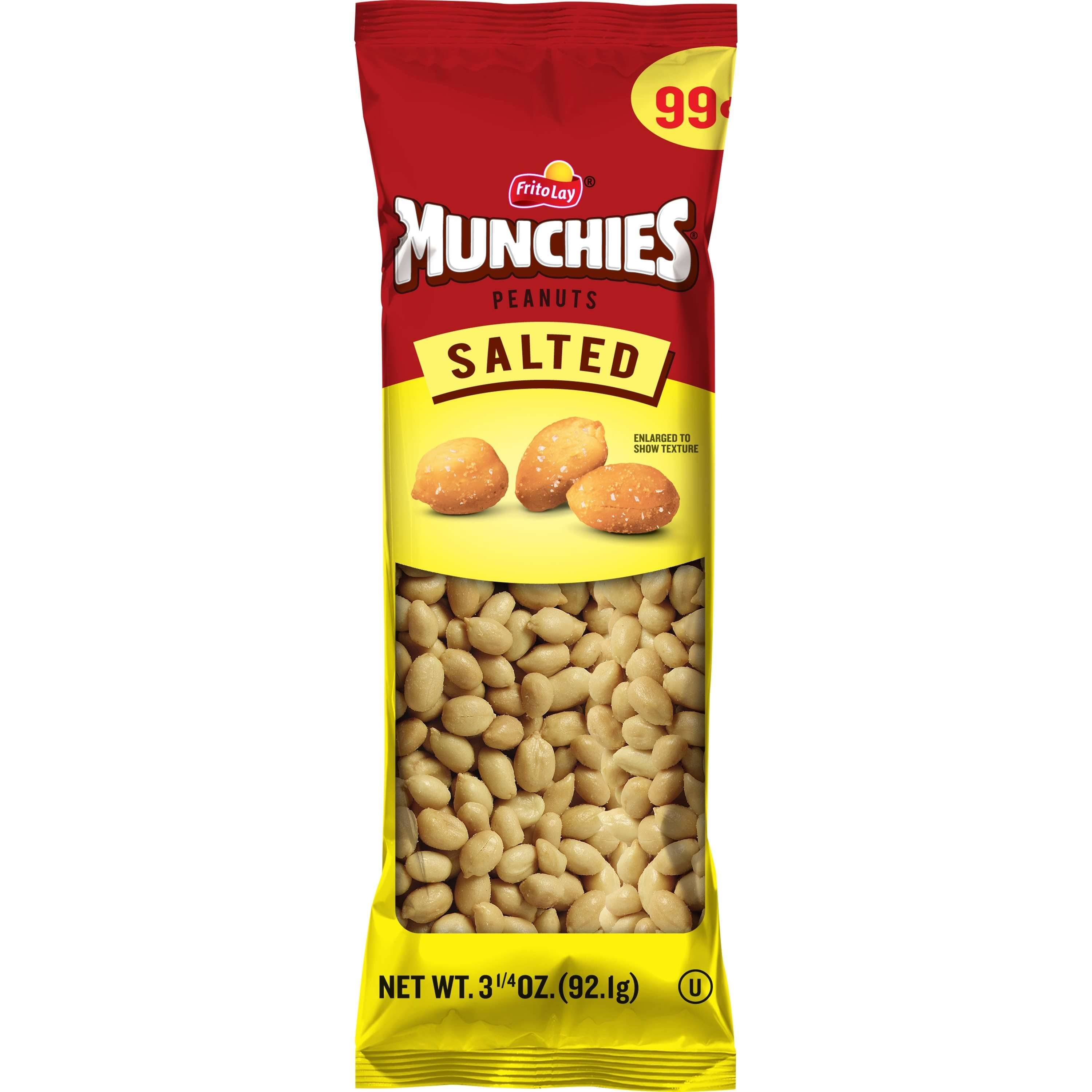 Munchies Salted Peanuts - 3-1/4oz