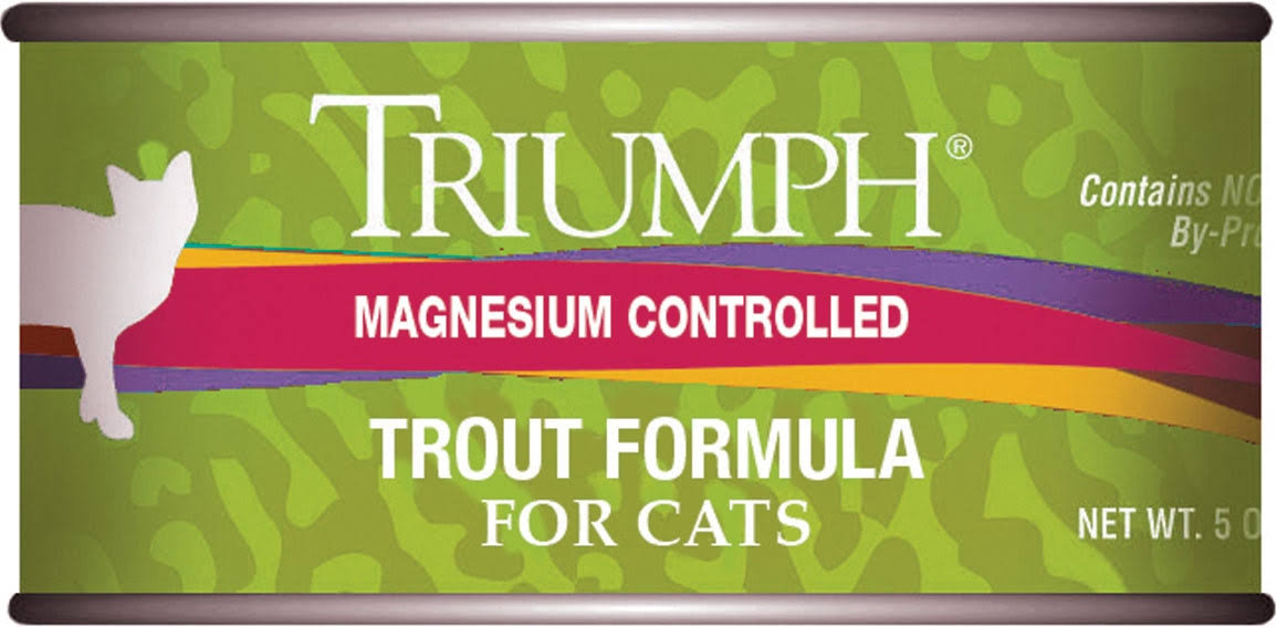 Triumph Adult Cat Food - Trout, 156g