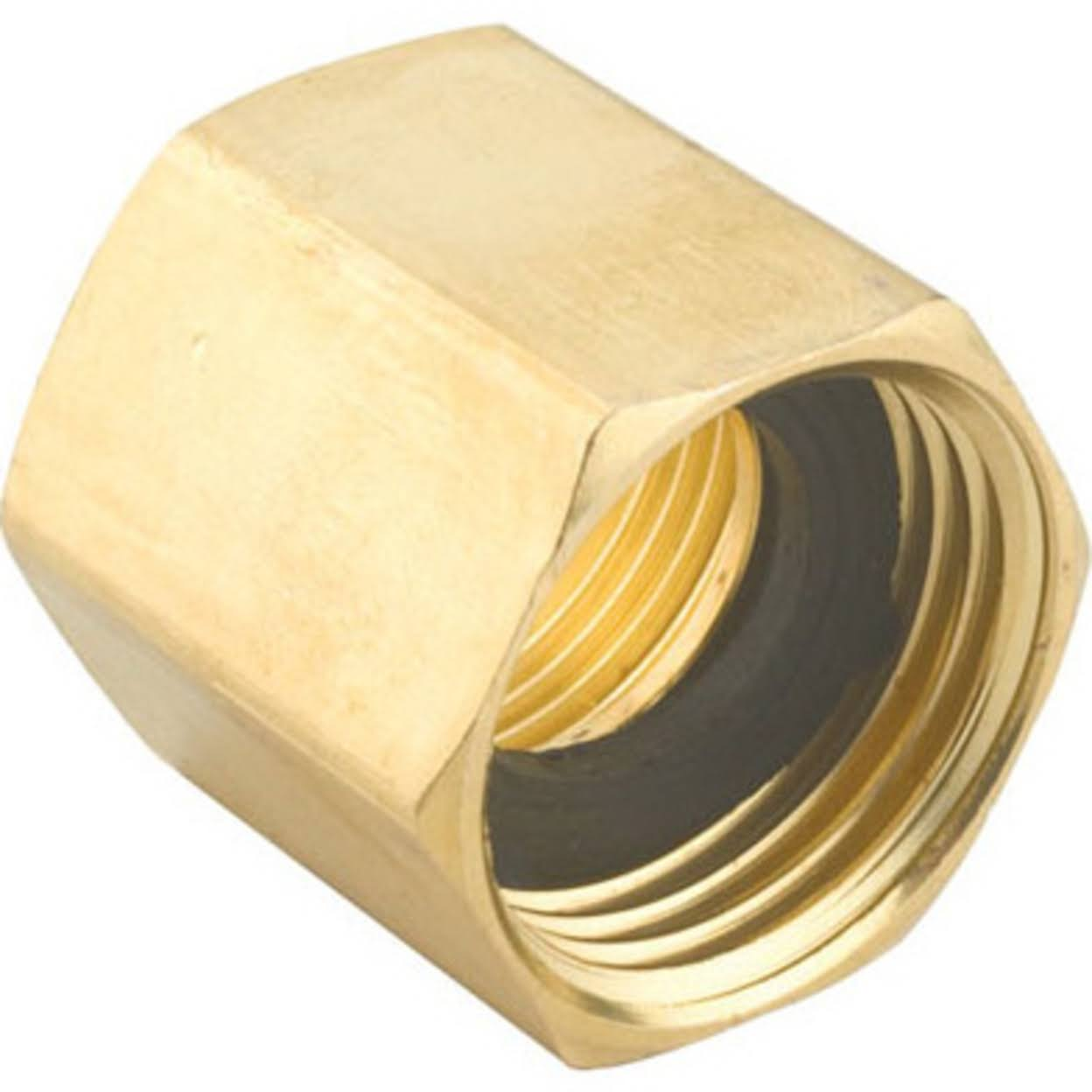 Gilmour Double Female Hose Connector - Brass
