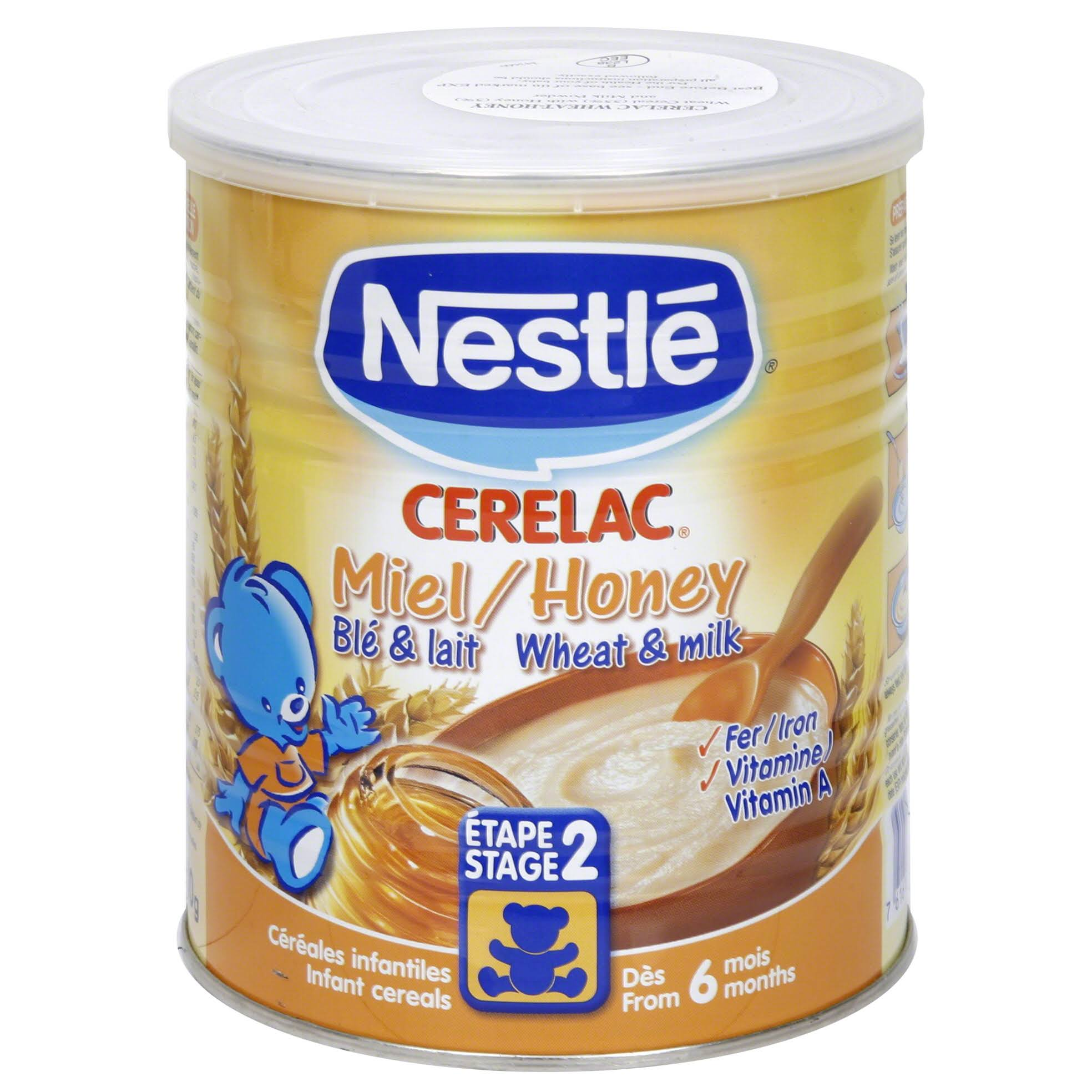 Nestle Cerelac Infant Cereal - Honey and Wheat, with Milk, From 12 Months, 400g