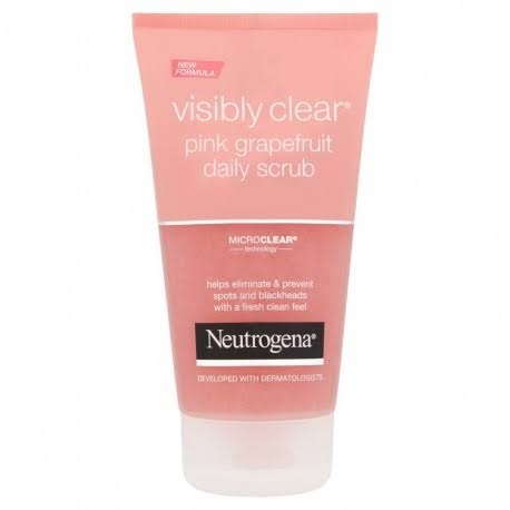 Neutrogena Visibly Clear Daily Scrub - Pink Grapefruit, 150ml