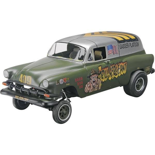 REVELL '53 Chevy Panel Truck Plastic Model Car Toy