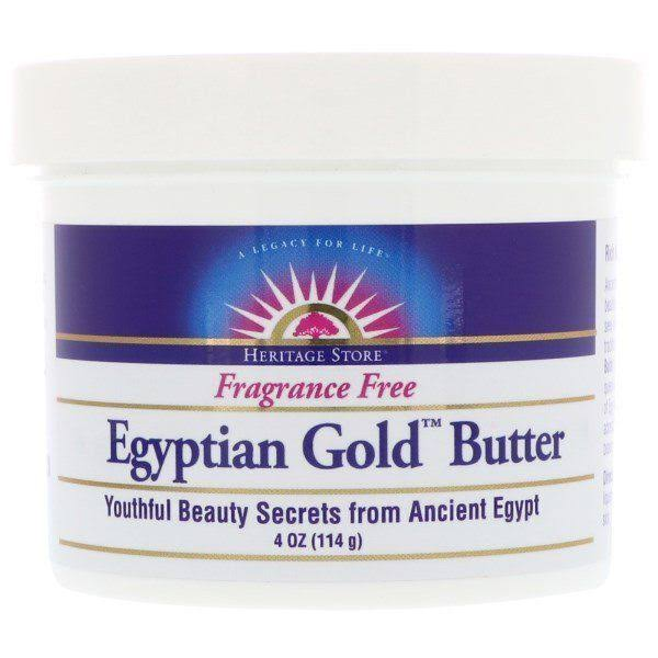 Heritage Store Fragrance Free Egyptian Gold Butter - 114g
