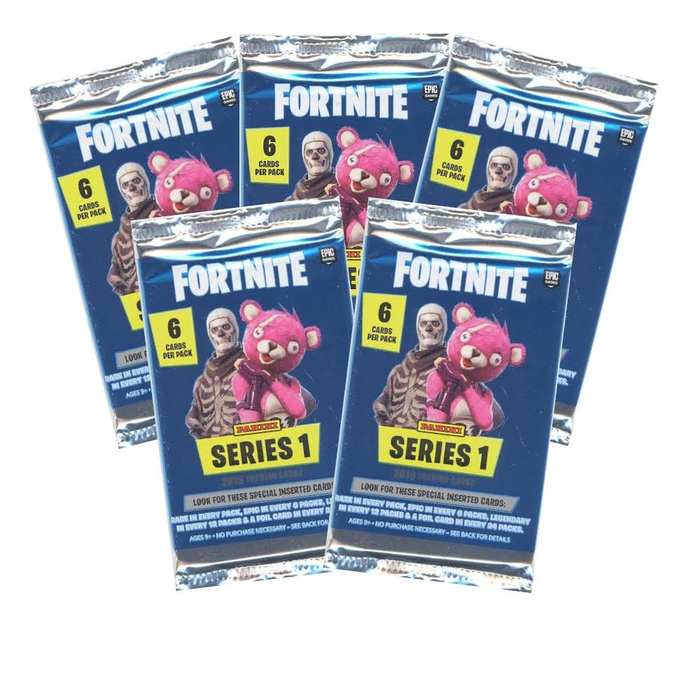Panini Fortnite Series 1 Trading Card - 6pk