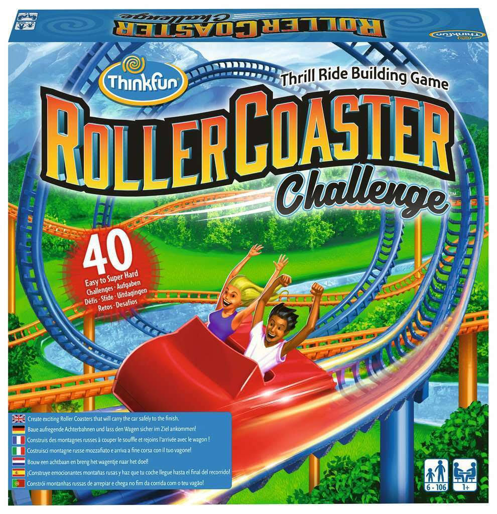 Think Fun – Roller Coaster Challenge Game of Skill Ravensburger 76343