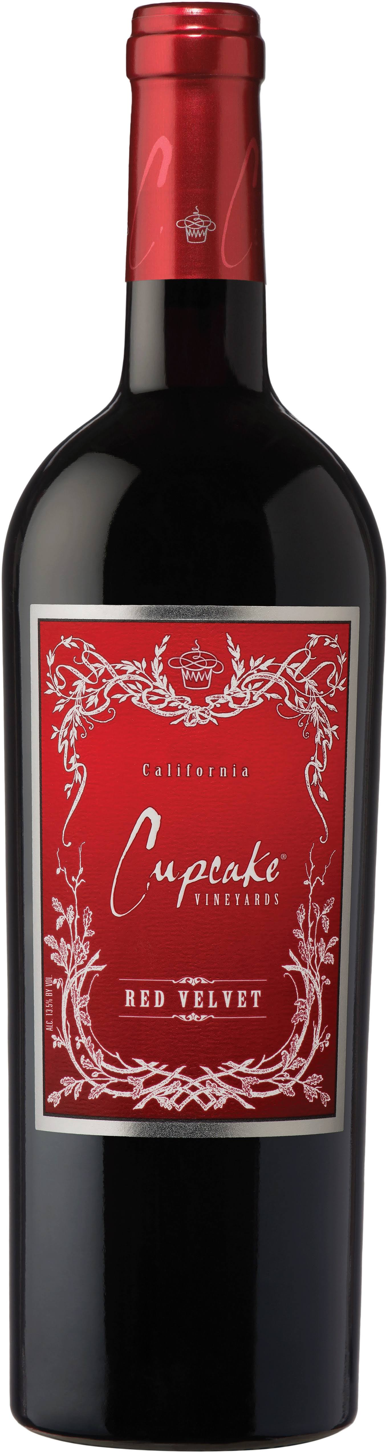 Cupcake Wine, Red Velvet, California, 2009 - 750 ml