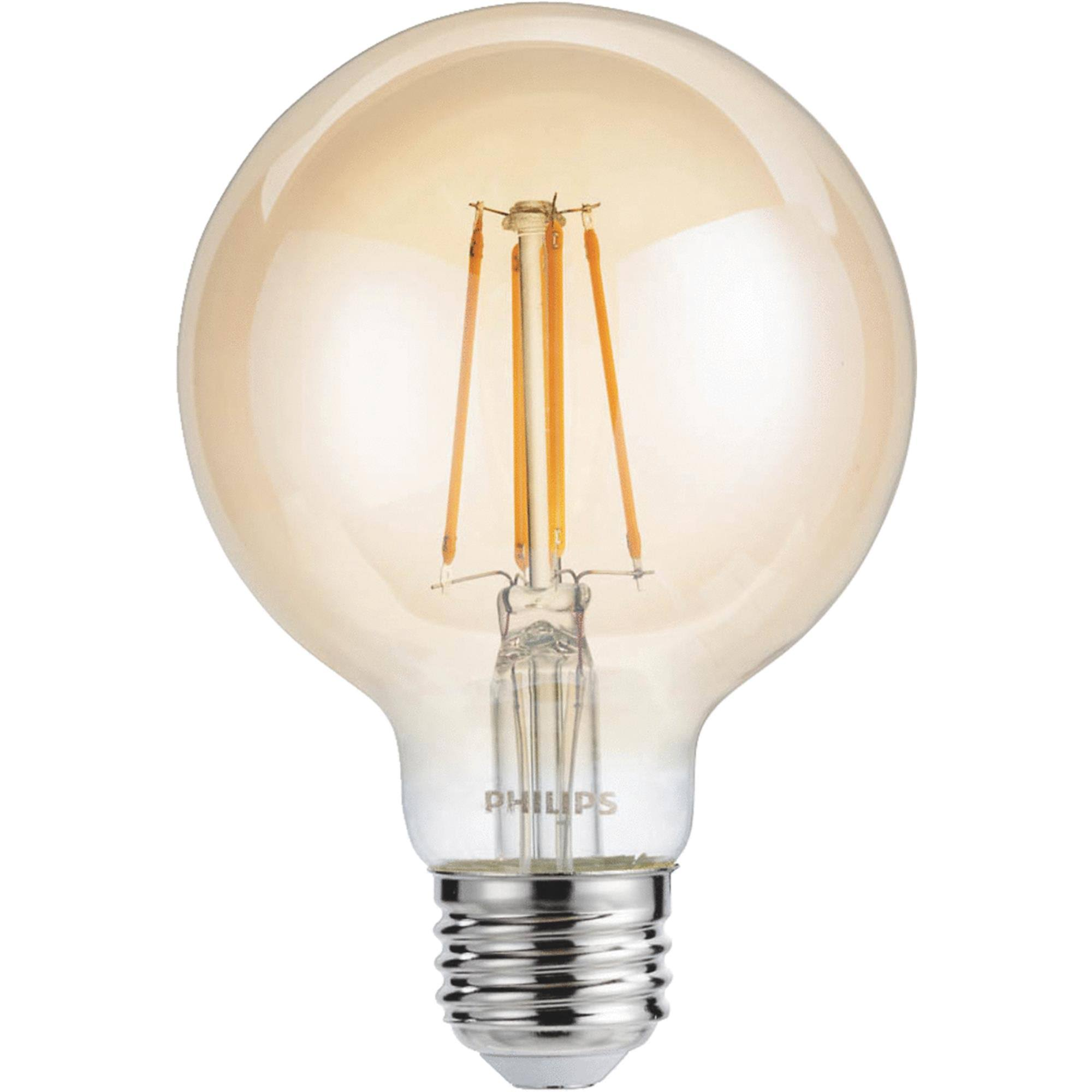Philips Light Bulb, LED, Amber Light, 4.5 Watts