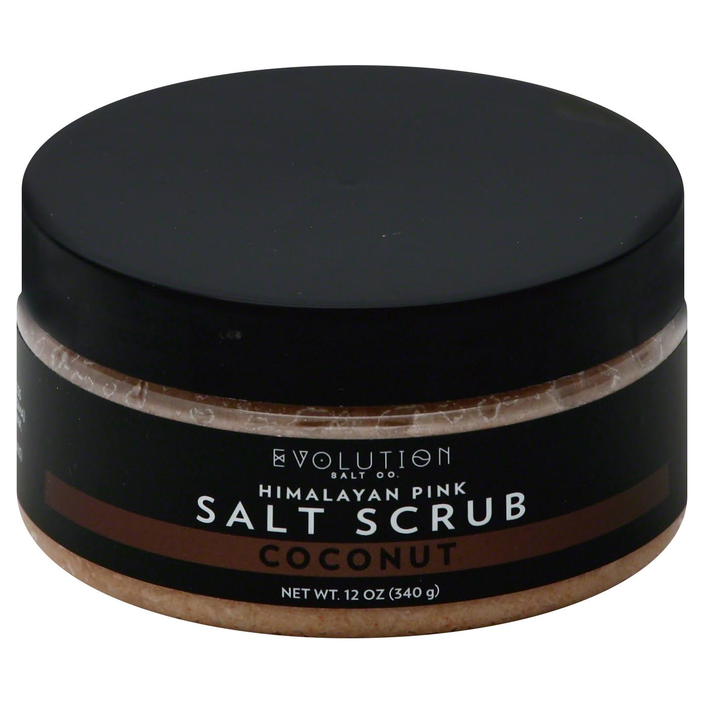 Evolution Salt Salt Scrub, Himalayan Pink, Coconut - 12 oz