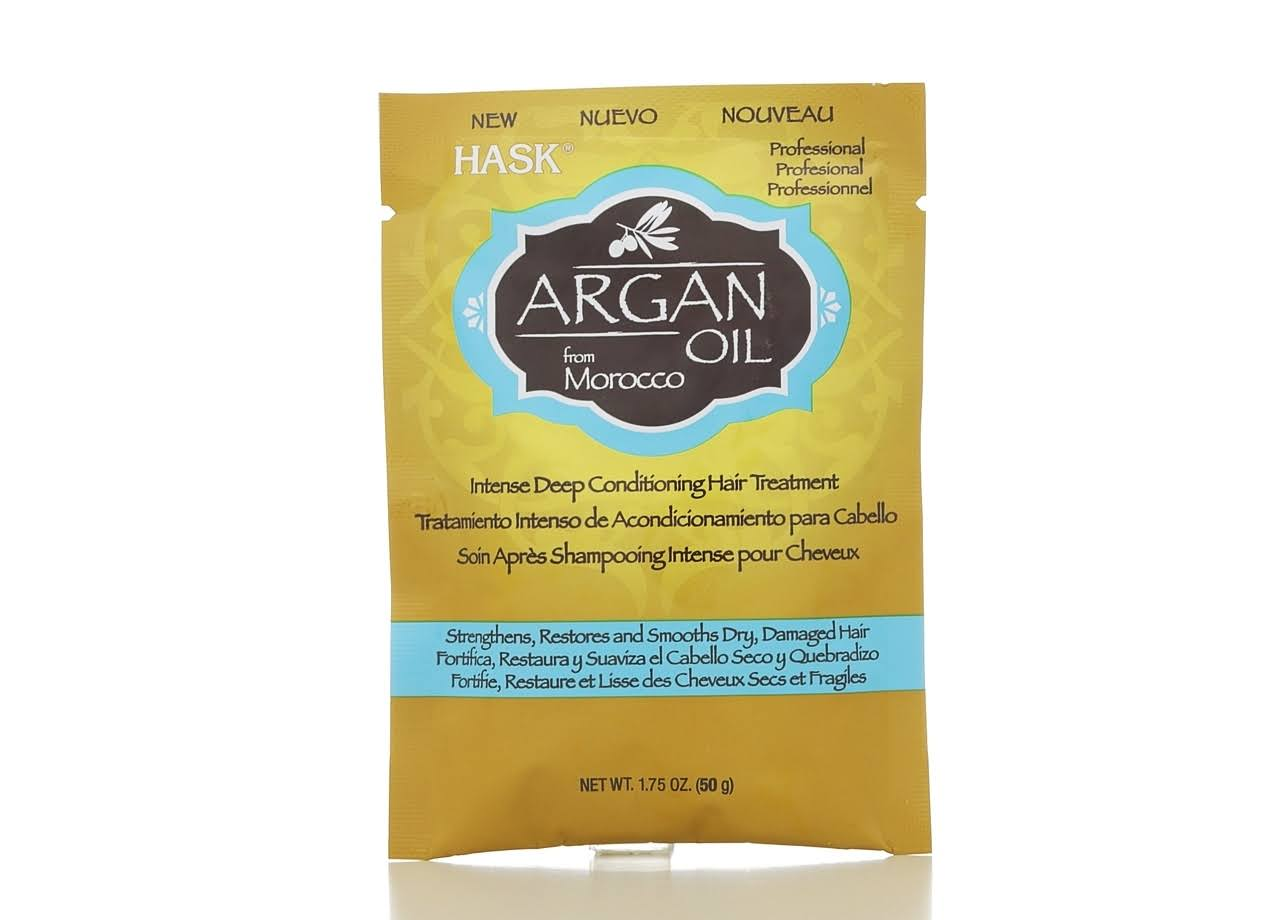 Hask Argan Oil Deep Conditioning Treatment - 1.75 oz packet