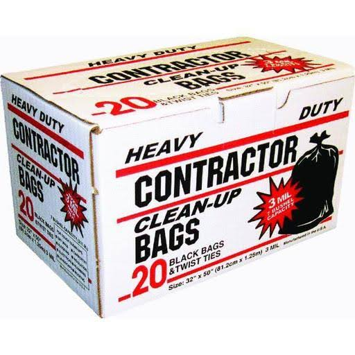 Primrose Plastics Contractor Trash BAG.