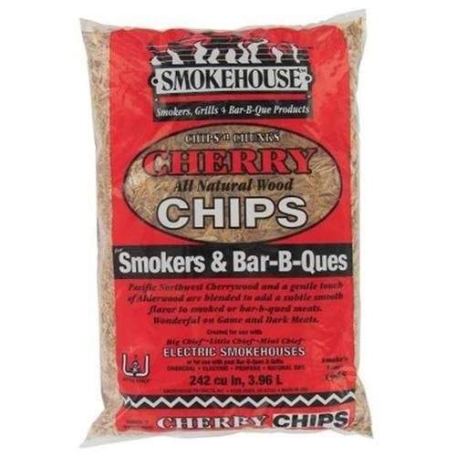 Smokehouse Products All Natural Flavored Wood Smoking Chips - Cherry, 3.96L