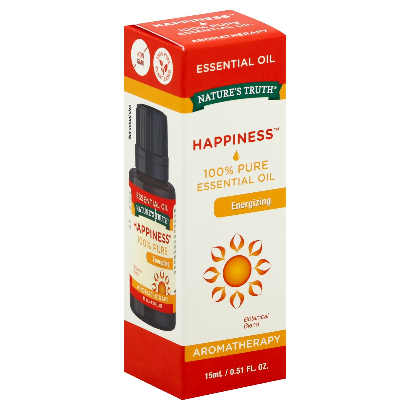 Nature's Truth Happiness Aromatherapy Energizing Botanical Blend Essential Oil - 15ml